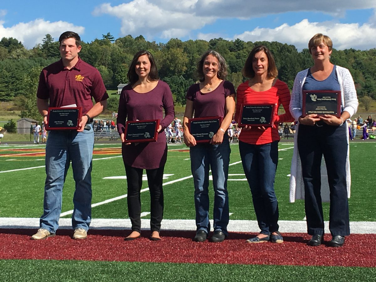 2016 FFCS Hall of Fame inductees recognized at homecoming game