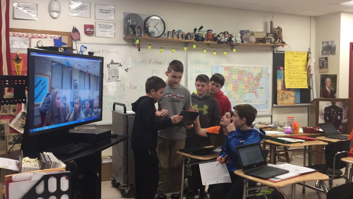Virtual Valentines: Classes across grade levels participate in worldwide digital card exchange