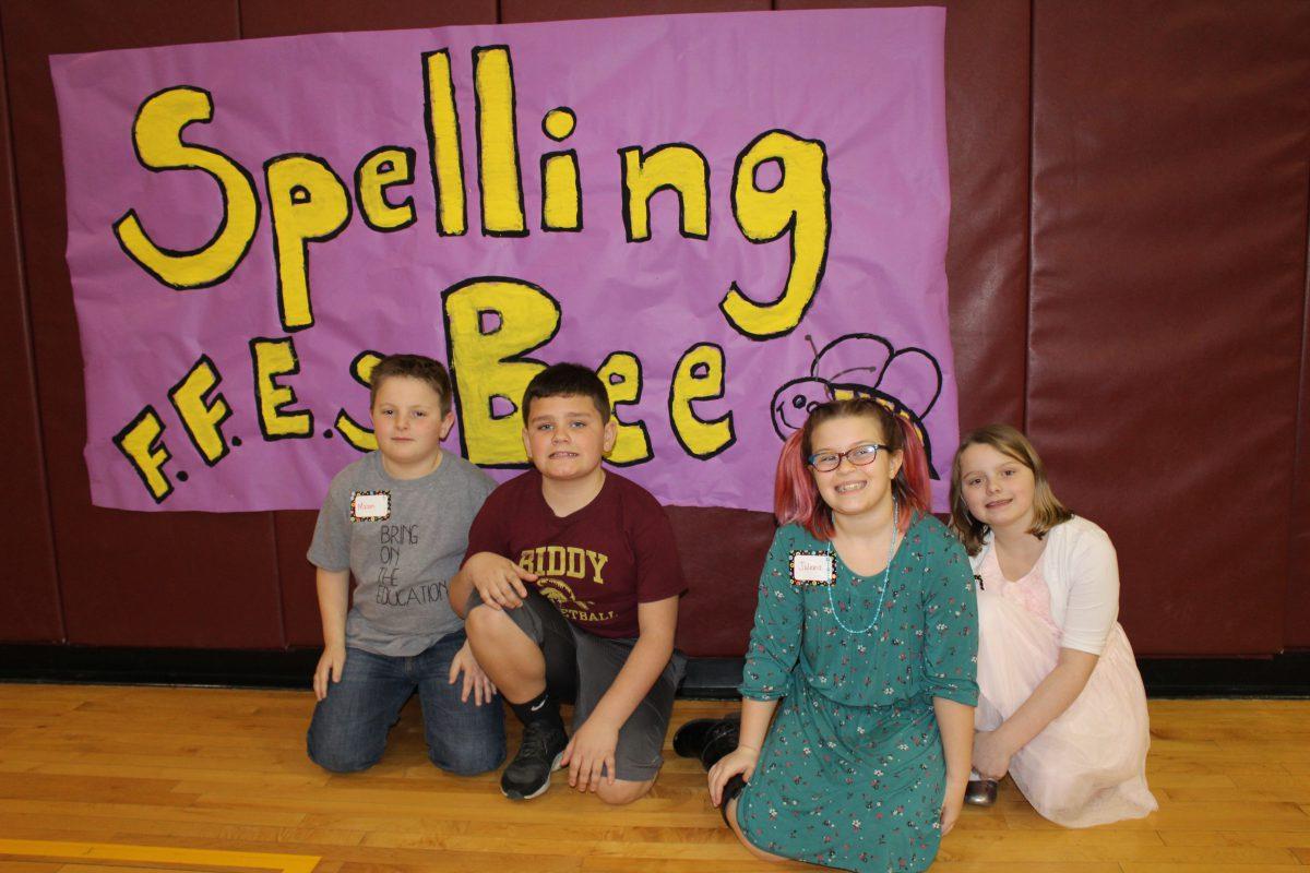 Elementary school holds inaugural spelling bee