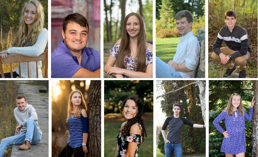 Congratulations to the Top 10 students of the Class of 2018