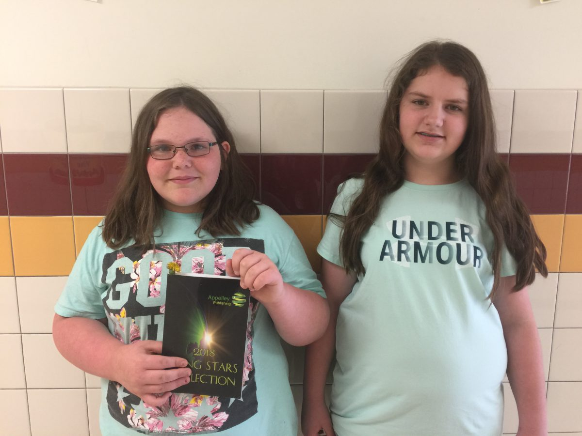 Middle school students earn recognition for writing abilities