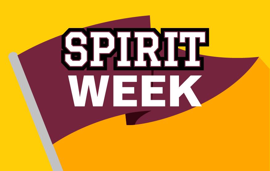 Spirit Week and Homecoming Schedule of Events