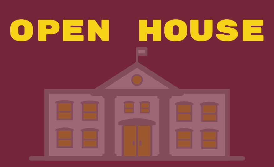 Families invited to open houses