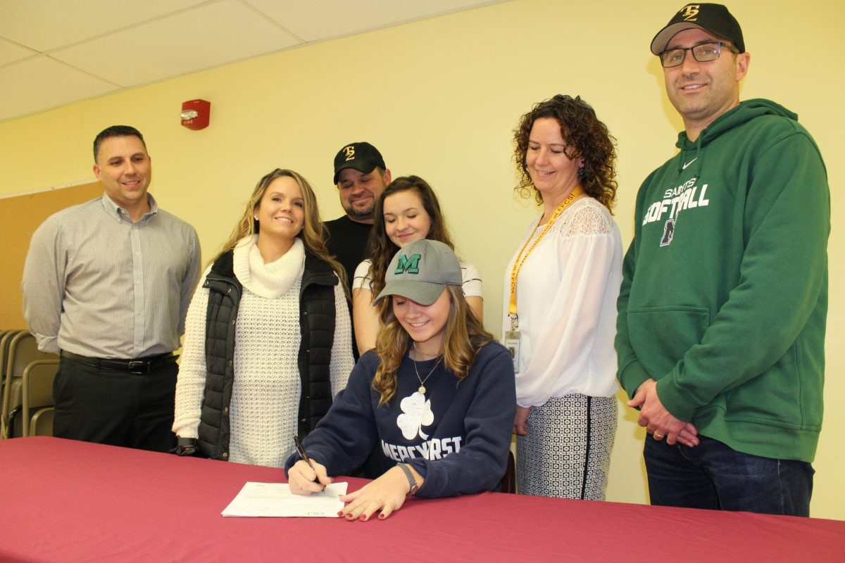Student athlete signs letter of intent to play softball at Mercyhurst University