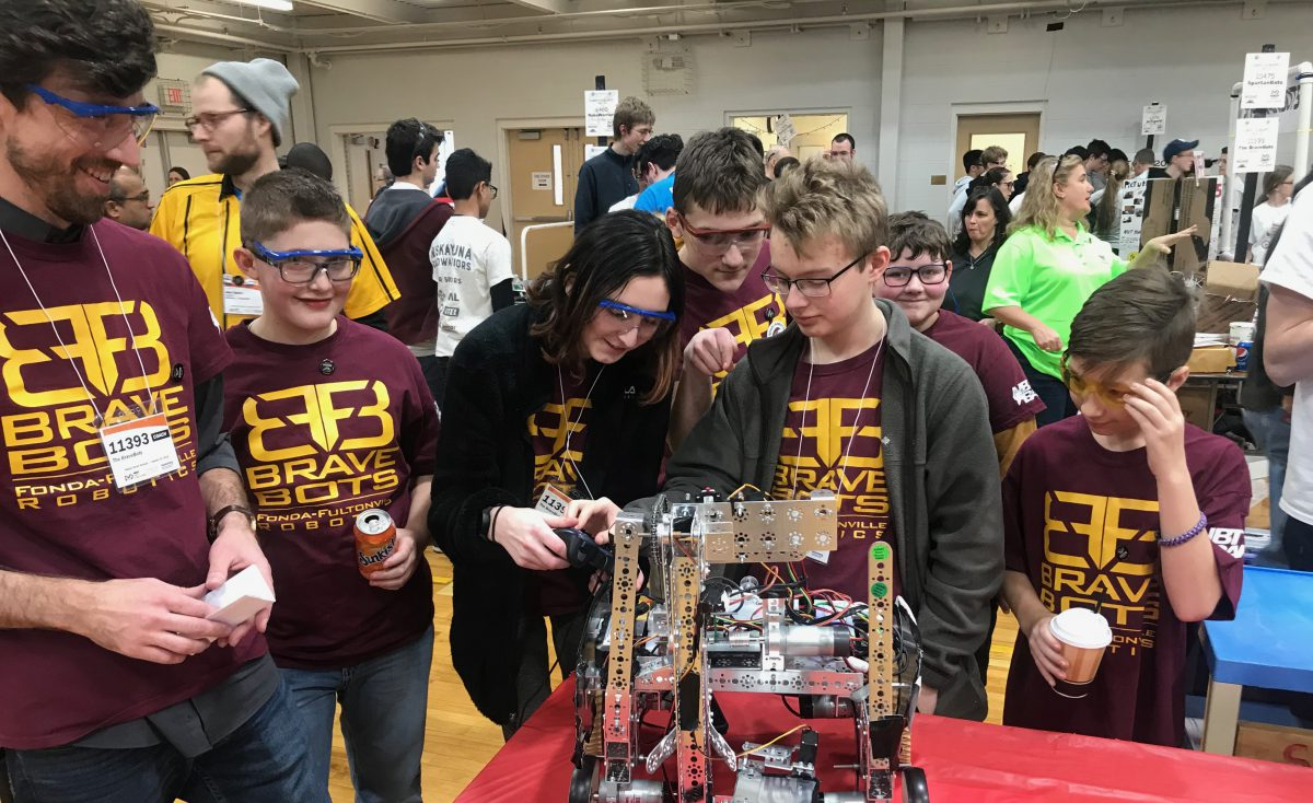 Robotics team has best showing to date at regional competition