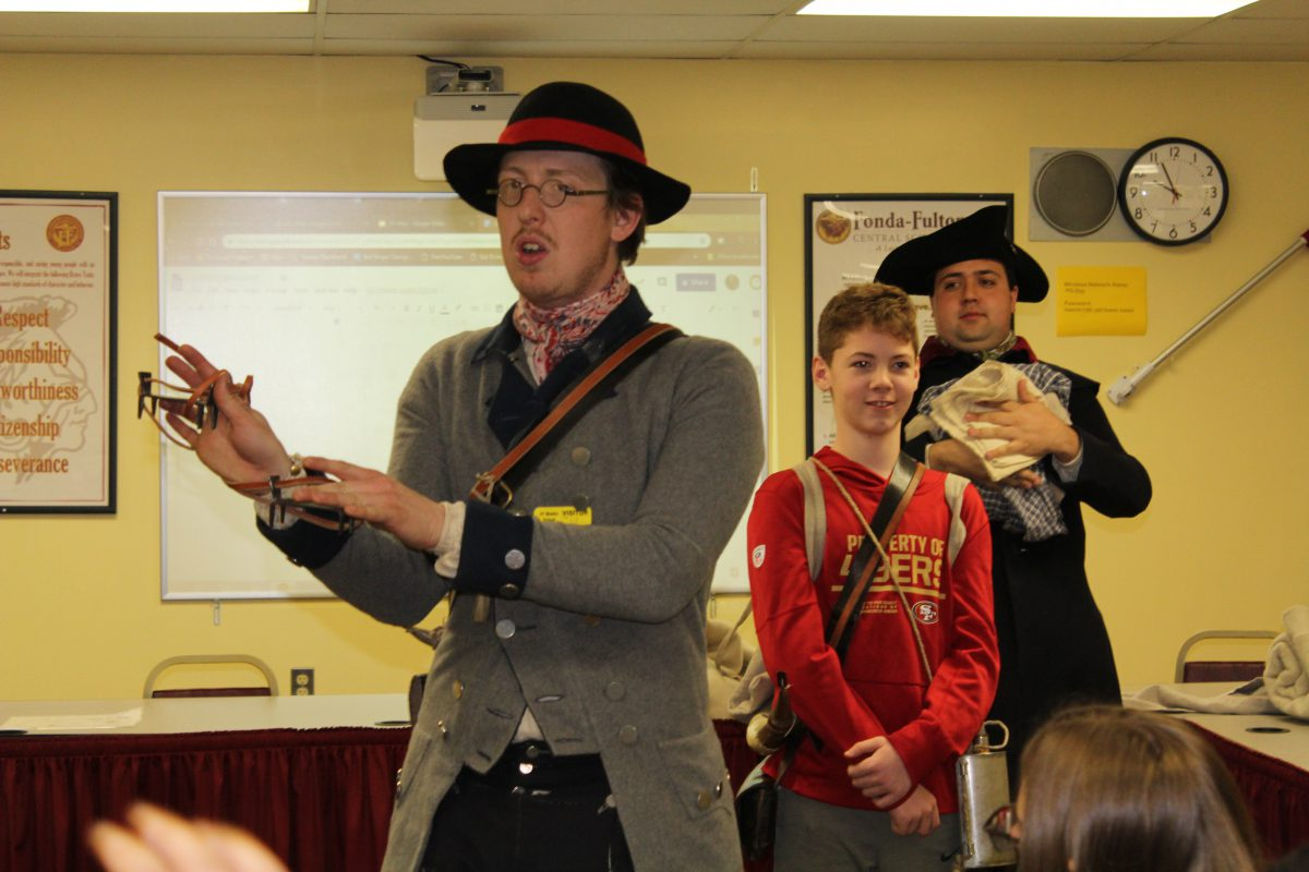 Historic site educators bring lessons about colonial soldiers to life