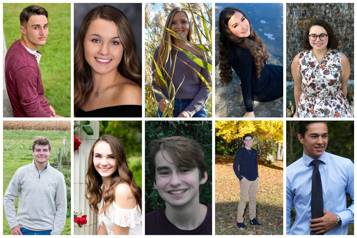 Top 10 students of the Class of 2019