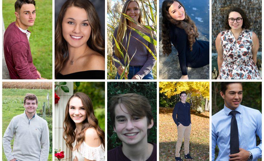 10 students seen in senior photos