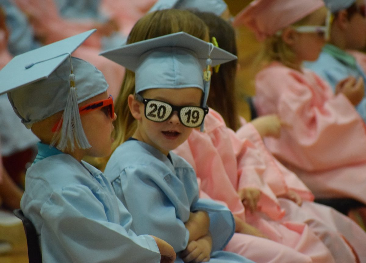 Pre-K students finish their school year in style
