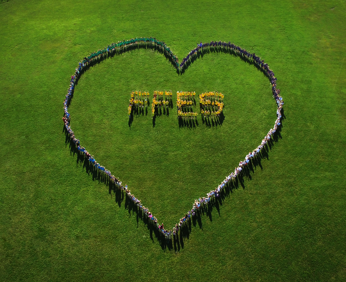 FFES shows love for our school community