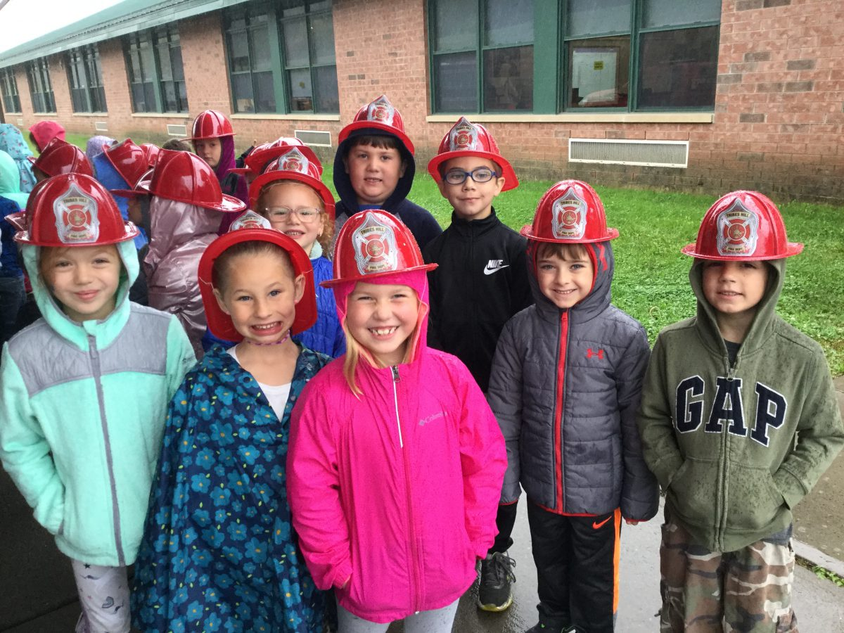 Departments teach fire prevention to elementary students
