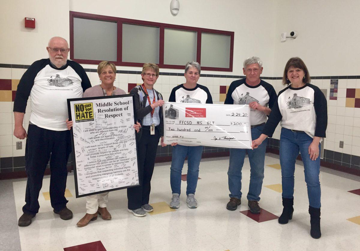 Foundation awards grants to robotics club, building leadership team
