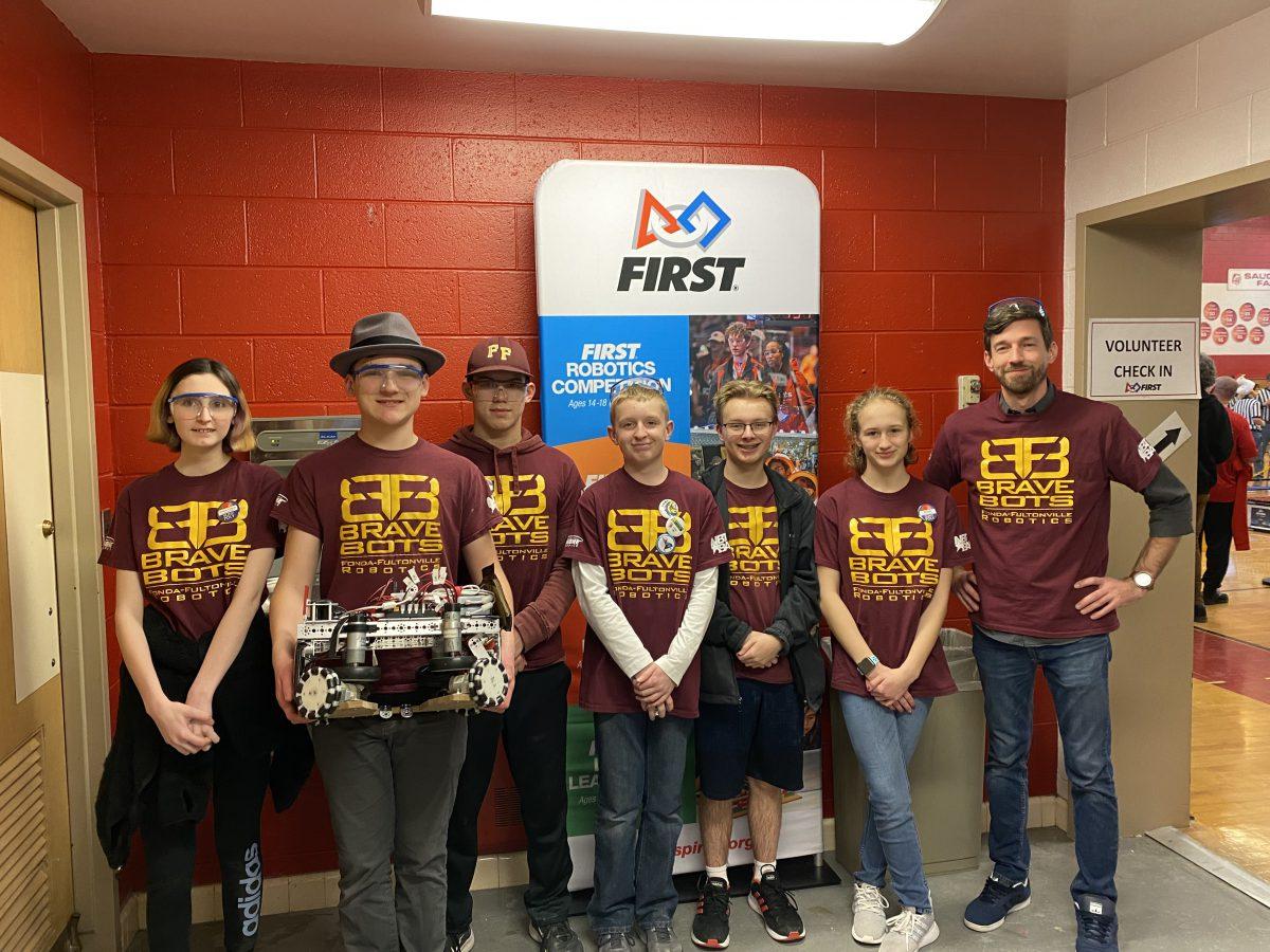 Brave Bots take trophy at robotics tournament