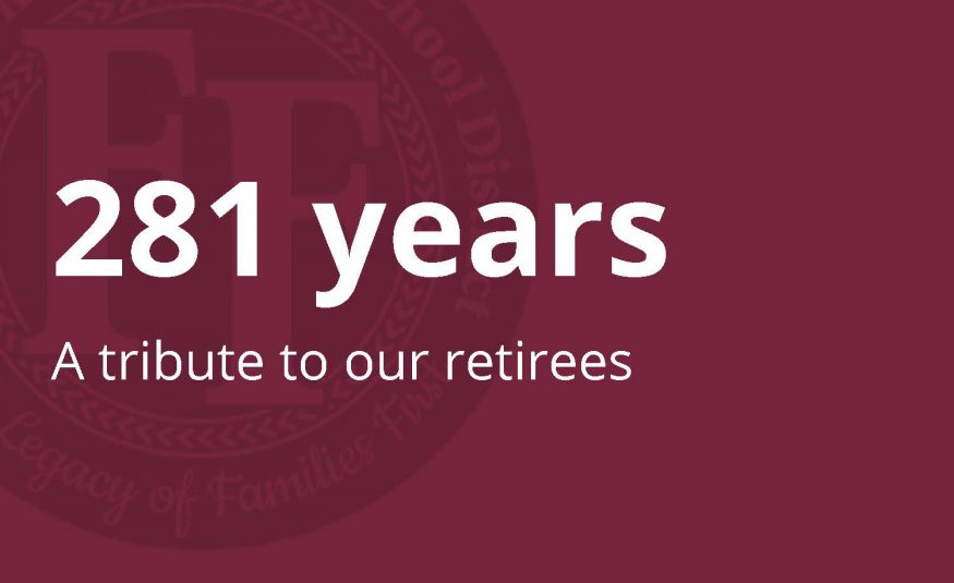 281 years: A tribute to our retirees