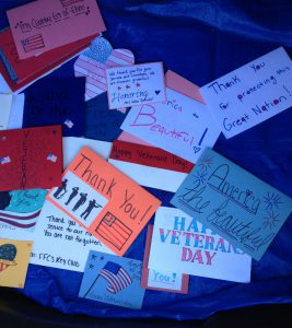 various handmade cards