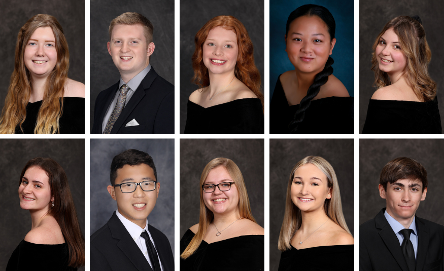 Congratulations to the Top 10 of the Class of 2021