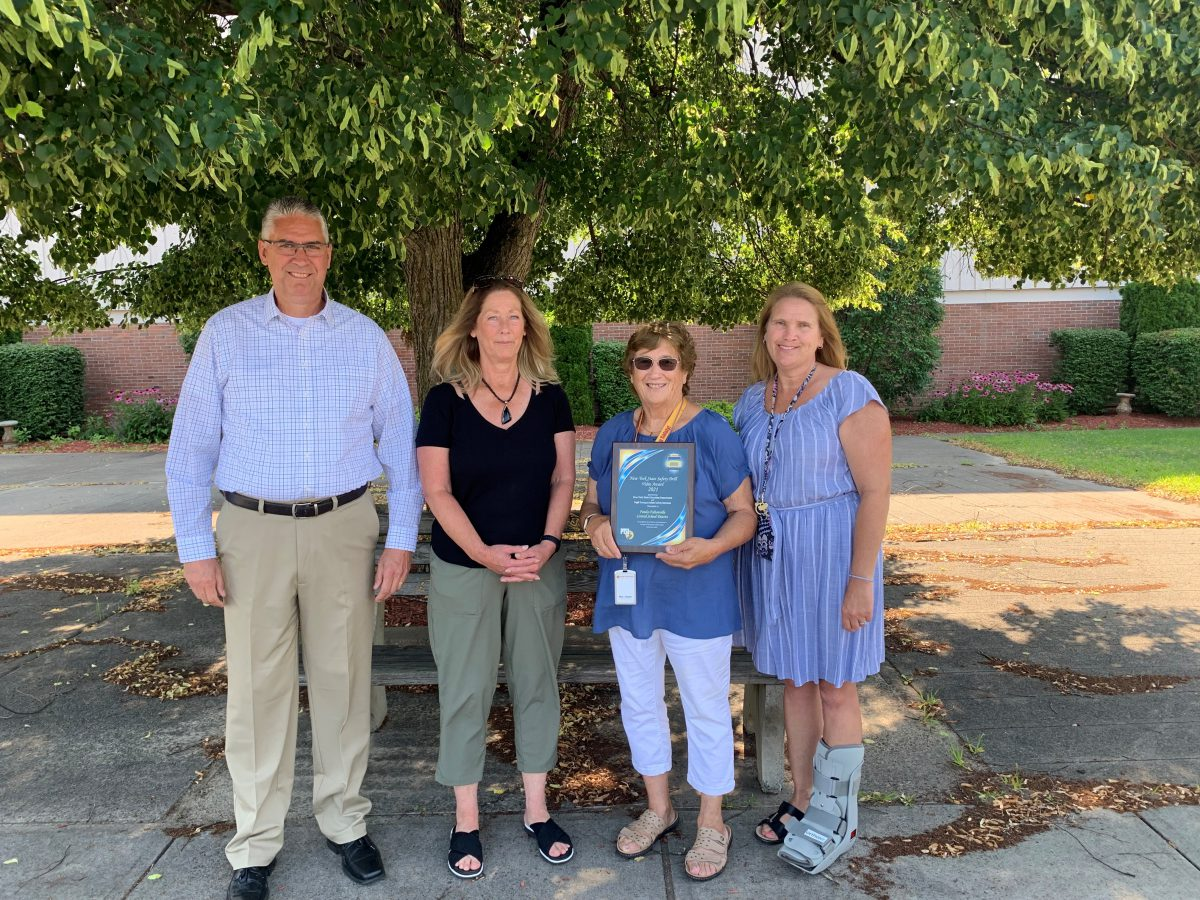 FFCSD presented with Safety Drill Award